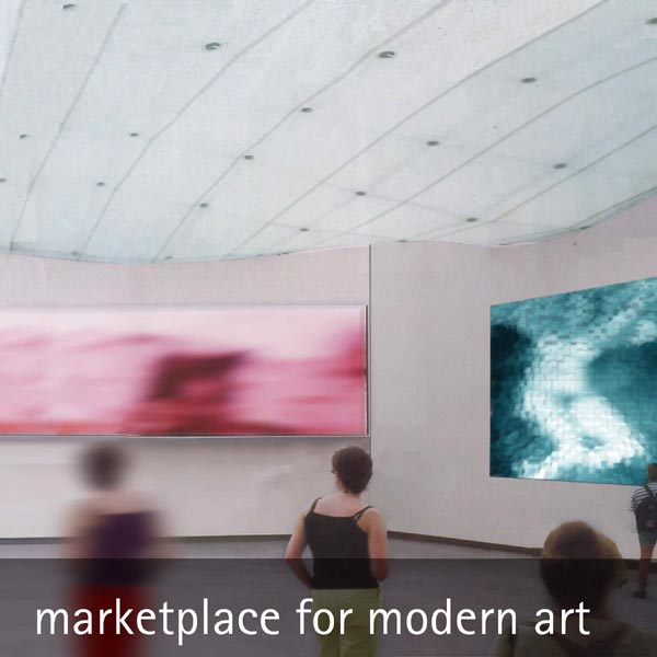 marketplace for modern art